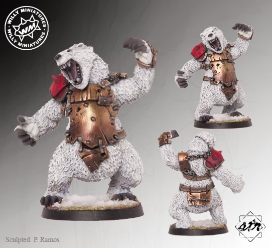 Willy Miniatures War Bear