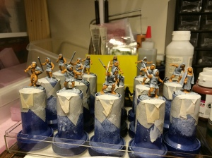 Warband for Songs of Shadows and Dust in progress